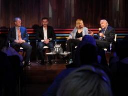 """Silvana Boschi presentó """"Los secretos de la Corte"""""""