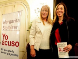 "Stolbizer presentó su libro ""Yo acuso"" junto a Vidal"