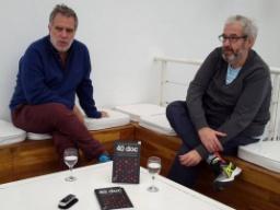 """Noriega y Panozzo nos cuentan de qué trata """"40.doc"""""""